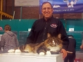 Brumme fik en hat da han blev Best Cat i Asperen